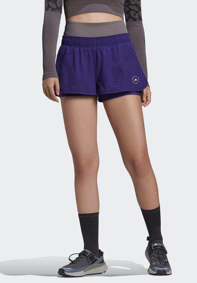 Krótkie spodenki sportowe - purple