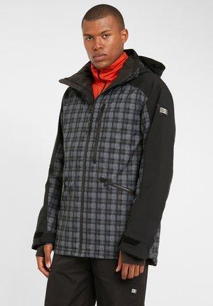 DIABASE  - Snowboard jacket - black aop