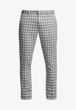 Trousers - black/grey