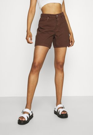 EMMA  - Jeansshorts - brown dark/unique brown