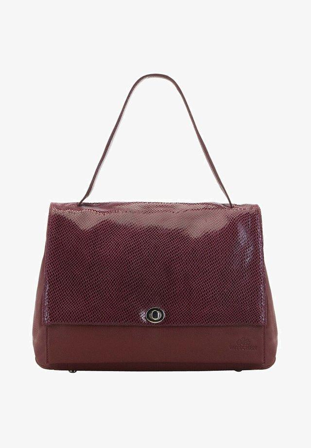 Handbag - dunkelrot