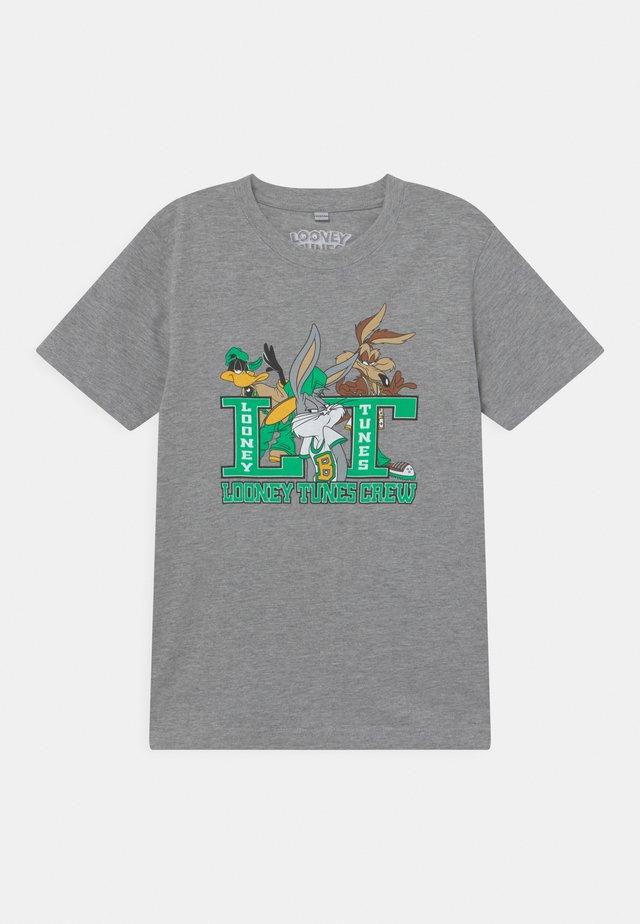 KIDS LOONEY TUNES CREW TEE UNISEX - Print T-shirt - grey