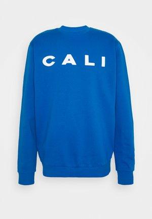 UNISEX CALI EXTREME OVERSIZED - Sweatshirt - blue