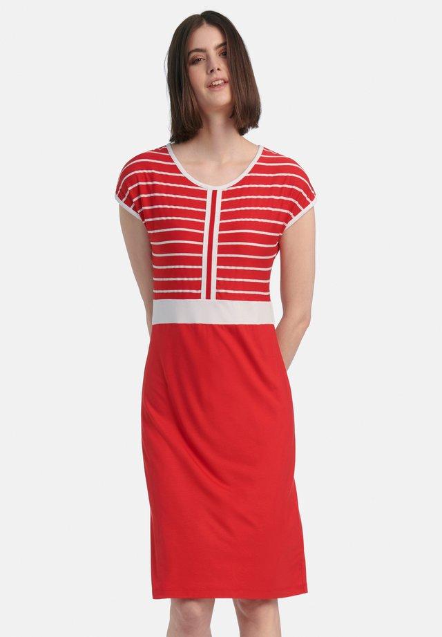 Jerseyjurk - rot weiß