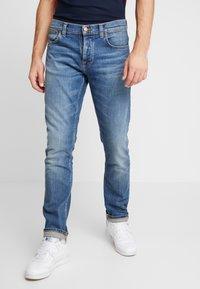 Nudie Jeans - GRIM TIM - Slim fit -farkut - pale shelter - 0