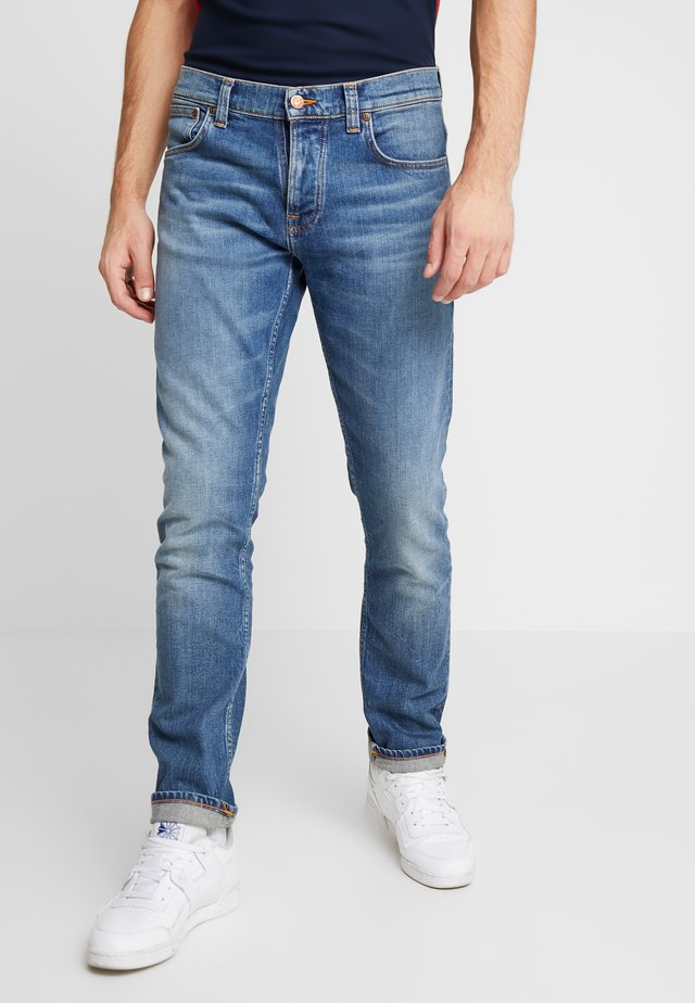 GRIM TIM - Slim fit jeans - pale shelter