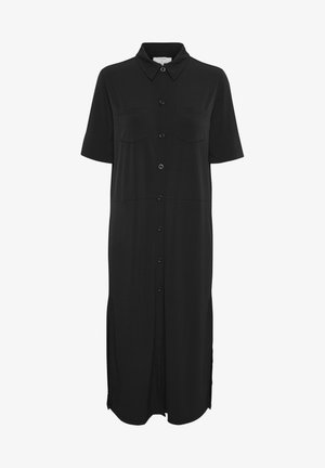 OMINA  - Shirt dress -  black