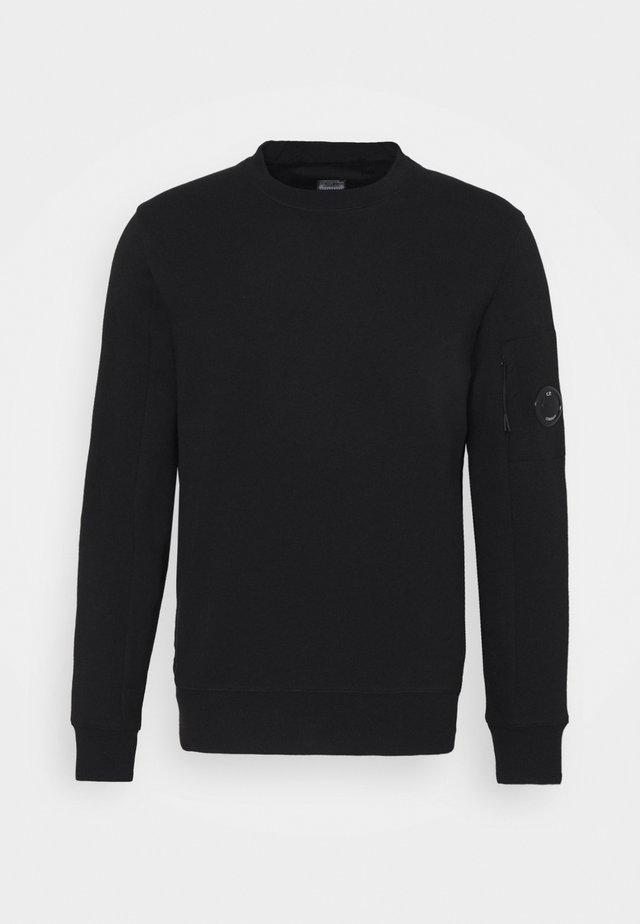 DIAGONAL RAISED - Sweatshirt - black