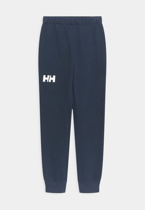 LOGO UNISEX - Tracksuit bottoms - navy