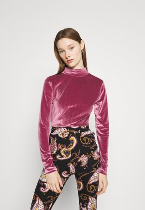 NEYO TURTLE NECK - Long sleeved top - old lilac