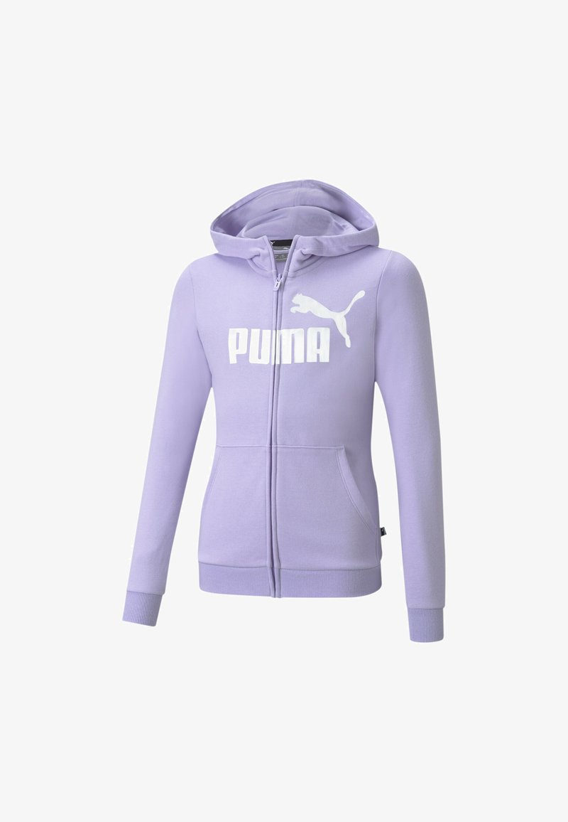 Puma - Zip-up hoodie - light lavender