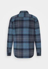 Brixton - BOWERY  - Shirt - navy/carolina blue - 1