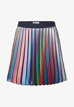 BRAGA - Pleated skirt - black iris
