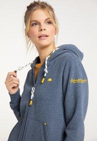 Schmuddelwedda - Zip-up sweatshirt - marine melange - 3