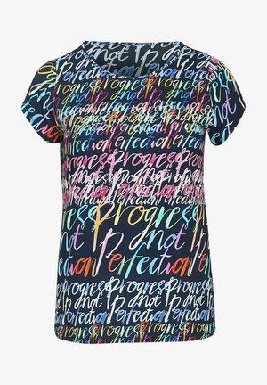 Print T-shirt - marine