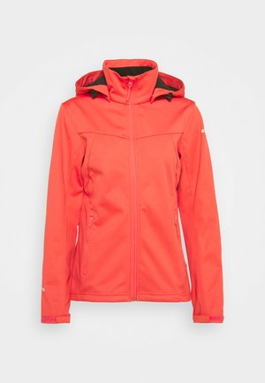 BOISE - Kurtka Softshell - hot pink