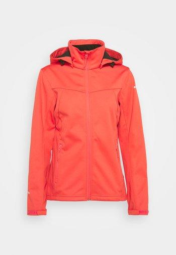 BOISE - Soft shell jacket - hot pink