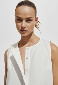 Massimo Dutti - Day dress - white - 2