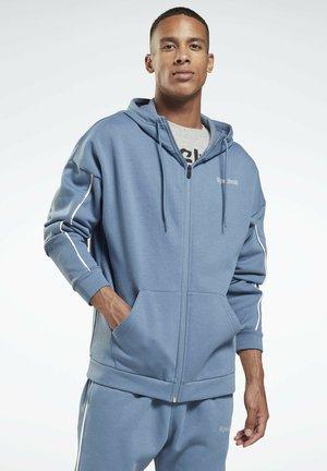 ESSENTIALS PIPING  - Jersey con capucha - blue