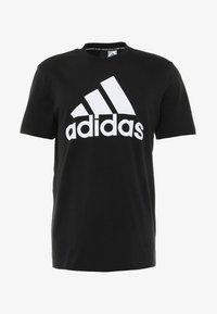 adidas Performance - TEE - T-shirt imprimé - black/white - 3