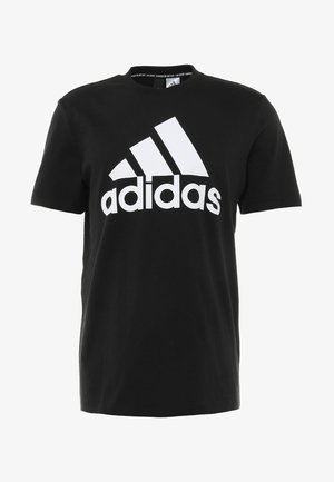 TEE - T-shirt imprimé - black/white
