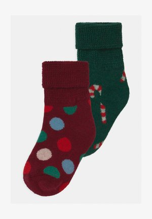 KIDS CHRISTMAS HOLIDAY BIG DOT COZY UNISEX - Socks - multi-coloured