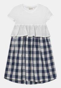 OVS - CHECKED - Korte jurk - bright white - 0