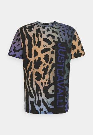 Print T-shirt - bright cobalt varian