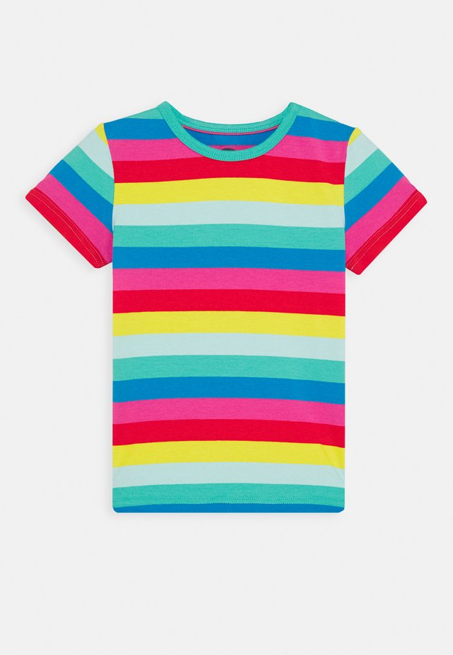 EVERYTHING RAINBOW - T-shirt imprimé - flamingo/multi