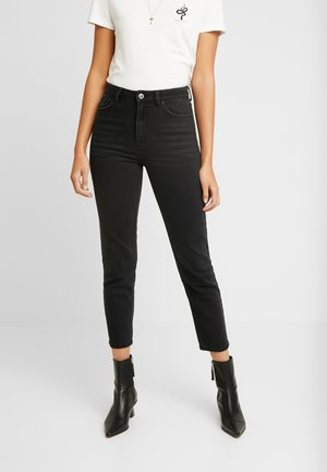 ONLEMILY - Straight leg jeans - black denim