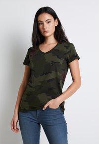 G-Star - T-shirt print - khaki - 0
