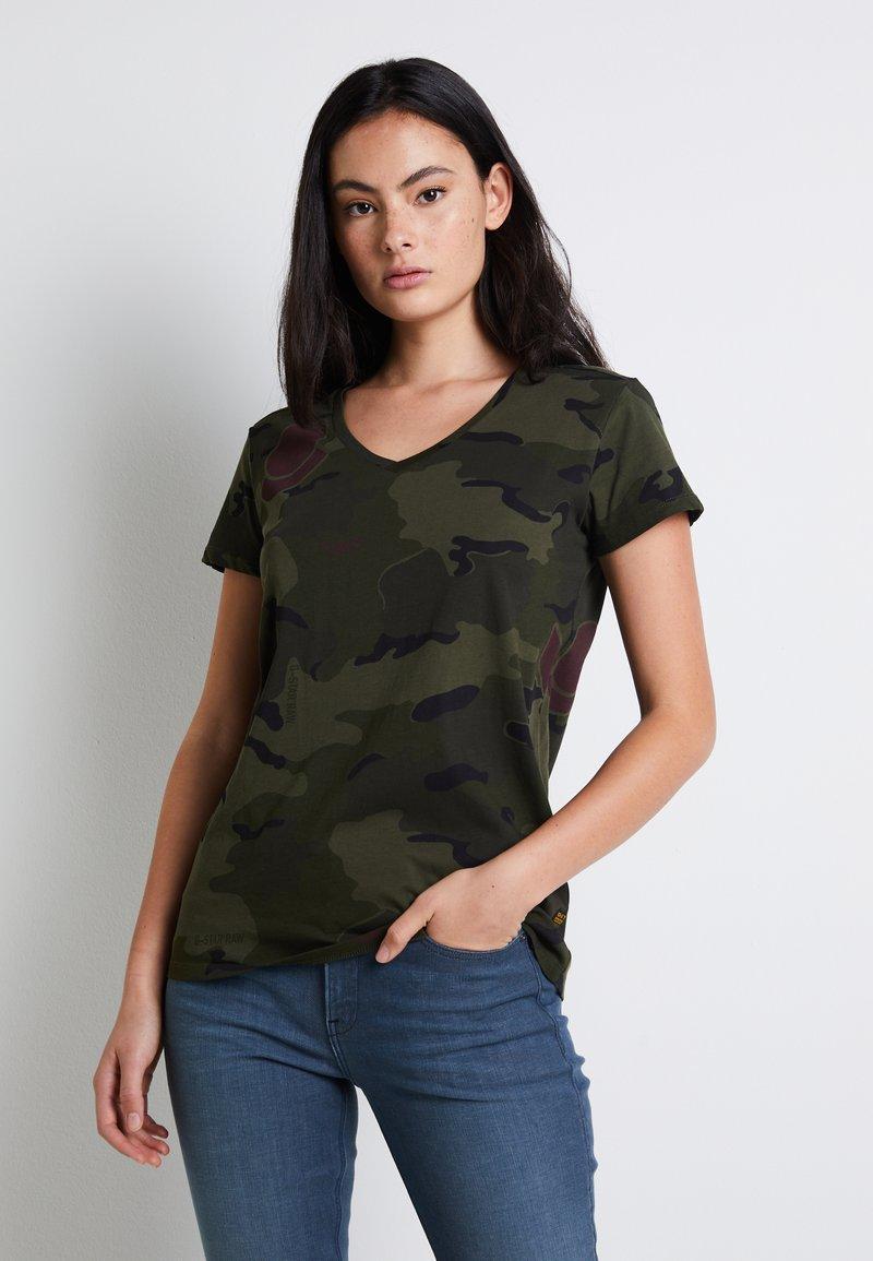 G-Star - T-shirt print - khaki