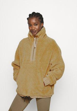 APPLETON - Fleece jumper - mustard gold