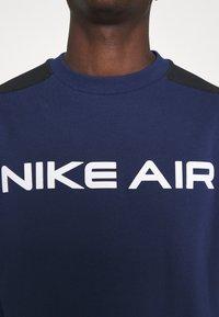 Nike Sportswear - AIR CREW - Sweatshirt - midnight navy/black/white - 4