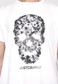 Just Cavalli - Triko spotiskem - white - 6