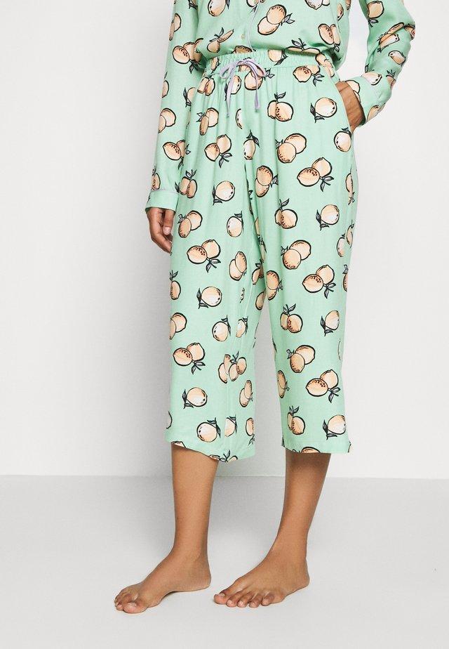 CAPRI ORANGES - Spodnie od piżamy - hamlock