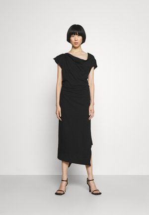 UTAH DRESS - Jersey dress - black