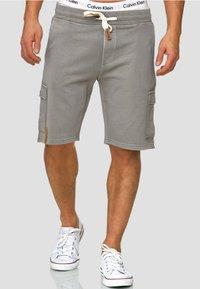 INDICODE JEANS - Shorts - grey - 0