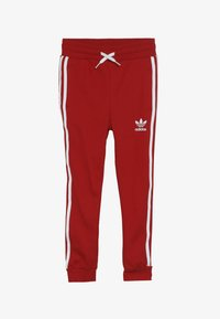 adidas Originals - TREFOIL PANTS - Tracksuit bottoms - red - 3