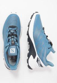 Salomon - SUPERCROSS  BLAST - Trail running shoes - copen blue/white/ebony - 1