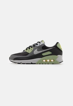 AIR MAX 90 - Sneakers basse - oil green/light smoke grey/black/iron grey