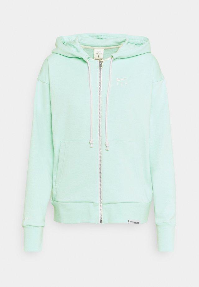 STANDARD ISSUE HOODIE - veste en sweat zippée - light dew/pale ivory