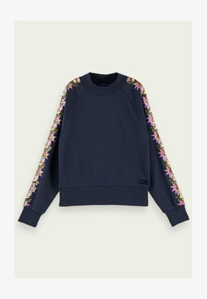 WITH ARM DETAIL - Sweatshirt - night