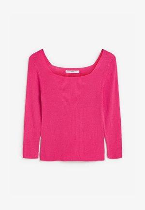 SQUARE NECK  - Maglione - pink