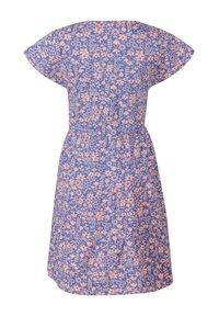 happy girls - BLUMEN - Day dress - royalblau - 1