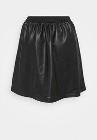 NAF NAF - JUPETTE - Mini skirt - noir - 1
