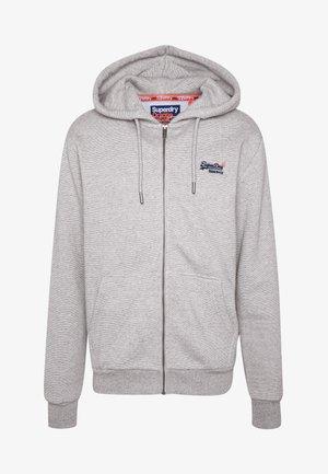 ORANGE LABEL CLASSIC ZIP HOOD - Zip-up hoodie - silver