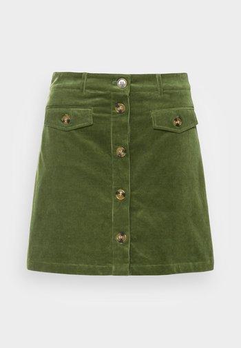 CAROLL SKIRT - Mini skirt - olive green