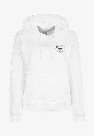 CLASSIC LOGO  - Jersey con capucha - white