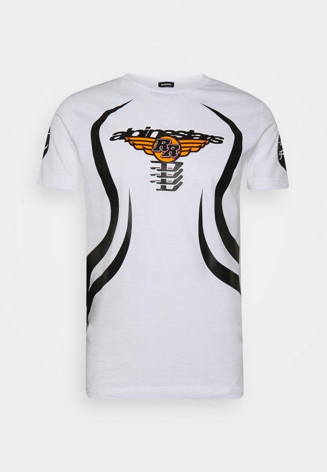 ASTARS DIEGOS - Print T-shirt - white